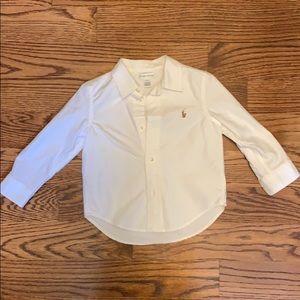 Ralph Lauren white button down